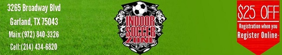 Indoor Soccer Zone III